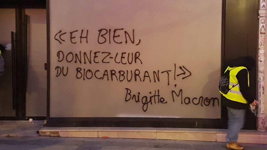 """Нека им предложим биогорива"" - Бриджит Макрон"